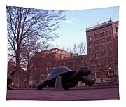 Visitors - Copley Square Tapestry