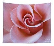 Vivacious Pink Rose 4 Tapestry
