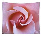 Vivacious Pink Rose 5 Tapestry