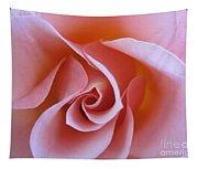 Vivacious Pink Rose Tapestry