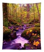 Vivid Green Tapestry