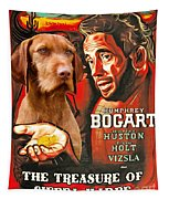 Vizsla Art Canvas Print - The Treasure Of The Sierra Madre Movie Poster Tapestry