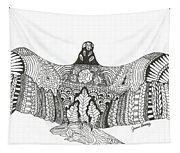 Vulture Wild Ink Tapestry
