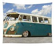 Vw Lowrider Bus Tapestry