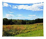 Wachusett Mountain From Tower Hill Tapestry