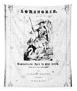 Wagner Lohengrin, 1850 Tapestry