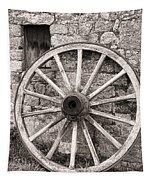Wagon Wheel Tapestry