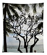 Waikiki Beach Hawaii Usa Tapestry
