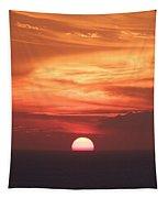 Waikiki Sunset No 2 Tapestry