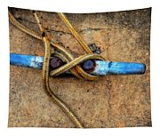 Waiting - Boat Tie Cleat By Sharon Cummings Tapestry