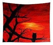 Waiting On Sundown Tapestry