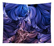 Walk Through The Petals Abstract Tapestry