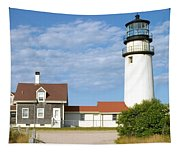 Walk To The Lighthouse Tapestry