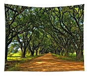Walk With Me Paint Version Tapestry