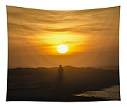 Walking In The Sunrise Tapestry