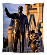 Walt And Mickey Tapestry