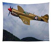Warhawk Curtiss P-40  Tapestry