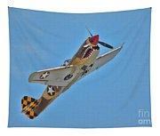 Warhawk Fighter Tapestry