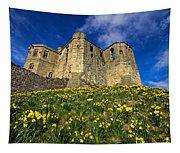 Warkworth Castle In Spring Tapestry