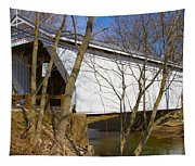 Warnke Covered Bridge  Tapestry