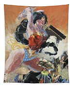 Warrior Princess Tapestry