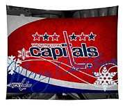 Washington Capitals Christmas Tapestry