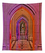 Washington Cathedral Light Show Tapestry