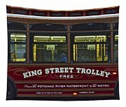 Washington Dc Trolley Tapestry
