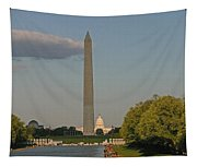 Washington Monument And Capitol Building-2 Tapestry
