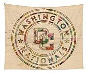 Washington Nationals Poster Vintage Tapestry