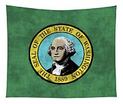 Washington State Flag Tapestry
