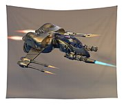 Wasp Fighter Tapestry