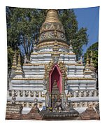 Wat Chai Monkol Phra Chedi Buddha Niche Dthcm0863 Tapestry