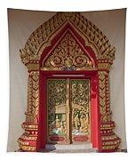 Wat Liab Ubosot Center Door Dthu349 Tapestry