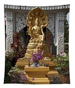 Wat Luang Buddha Image Dthu029 Tapestry