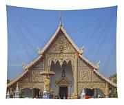 Wat Phra Singh Phra Wihan Luang Gable Dthcm0238 Tapestry