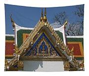 Wat Phrasri Mahathat Ubosot North Wing Gable Dthb1469 Tapestry