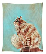 Watch Cat Tapestry
