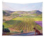 Watching From The Walls Old Provence Tapestry