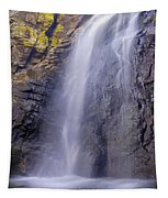 Watefall At The Mountains Tapestry