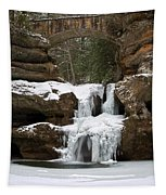 Water And Ice Flow Tapestry