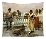 Water Carriers. Venice Tapestry