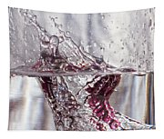 Water Drops Abstract  Tapestry