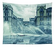 Water In The City Tapestry