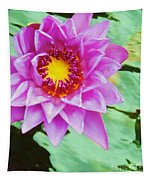 Water Lilies 003 Tapestry