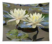 Water Lily Pair Tapestry