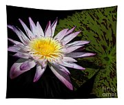 Water Lily With Lots Of Petals Tapestry