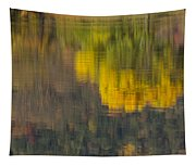 Water Reflections Abstract Autumn 2 B Tapestry