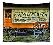 Water St. -  Chicago - The Salesman  Tapestry