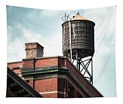 Water Tower In New York City - New York Water Tower 13 Tapestry